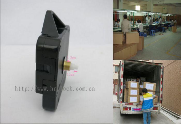 石英钟机芯生产