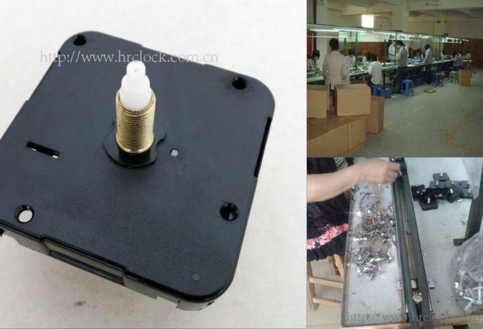 石英钟机芯生产图片