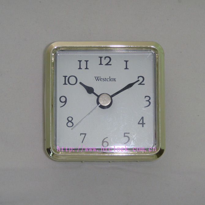 66x66mm 方形塑胶钟