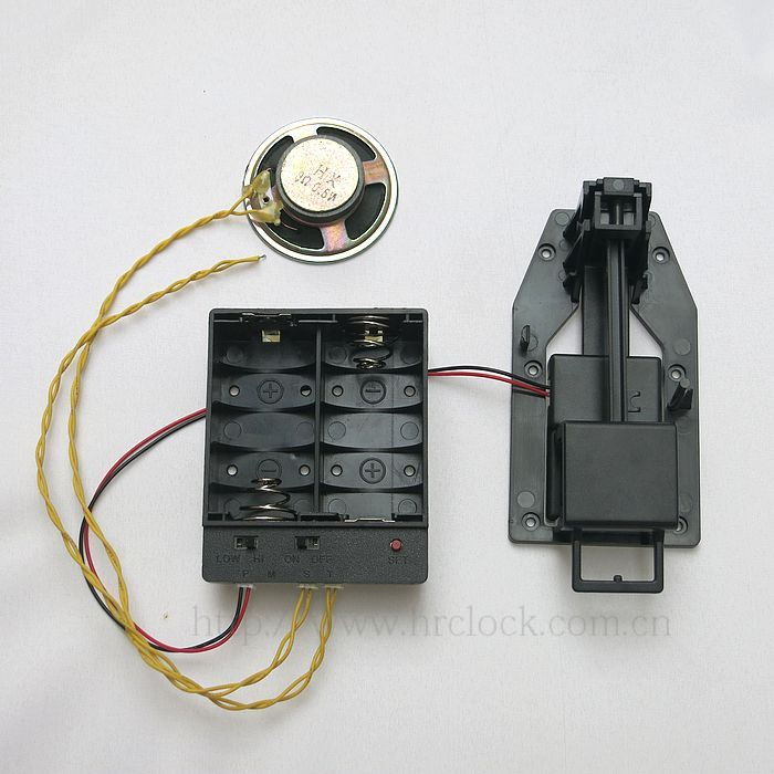 大功率负重500g落地钟配件带有音乐盒